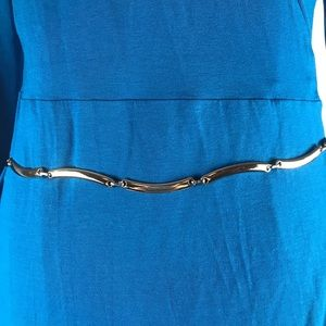 """Accessories - Silver Belt Metal Jewelry 37"""" Nice Quality"""